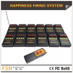48 cues fireworks firing system,far distance remote,adjust sequential time,fire all ,step fire for ematch and talon