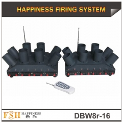 16 cues remote firing system for stage fountains,battery for power,sequential and fire all function