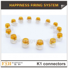 2000pcs/lot ,K1 connectors for cable in fireworks display,a plier for gift once you place order