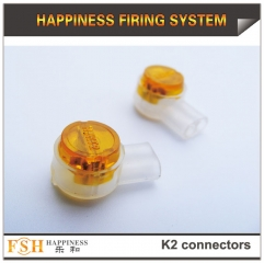 2000pcs/lot ,K2 connectors for cable in fireworks display,fireworks display products