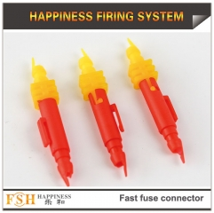2017 new 2000pcs/lot fast fuse connectors for fireworks display