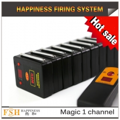 2017 New item magic one channel remote firing system ,10 cues for sale